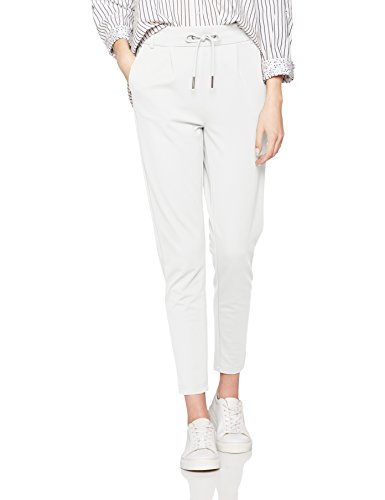 ONLY Damen Hose Onlpoptrash Easy Colour Pant Pnt Noos, Weiß (Cloud Dancer), 34 (Herstellergröße:XS) (34/L30)