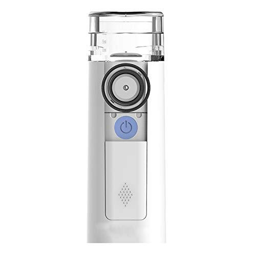 Nebulizer Inhalator Vernebler Für Kinder Und Erwachsene Inhalationsgerät USB Aufladbar Mit Maske Set Für Kinder Babys Mit Mundstück Und Ultraschall Zur Inhalation Bei Erkältungen Oder Asthma