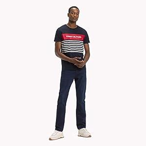 Tommy Hilfiger WCC Colour Block Stripe tee – Camiseta Hombre