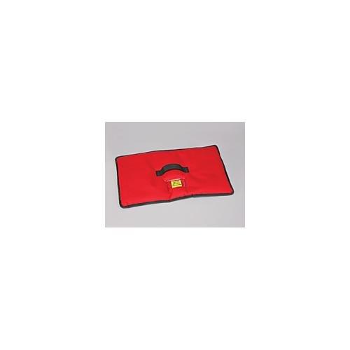 (Polar Tech 1560Red Isolierte Ostermotiven Dry Ice Cover für TC02Transport/Aufbewahrung Brust, 53,3cm Länge x 27,9cm Breite, Rot)