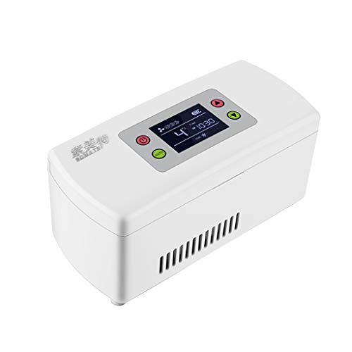 AIYE Mini refrigerador Refrigerador de medicamentos y refrigerador de insulina - Estuche...