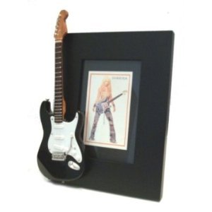 Shakira Miniatur Gitarre Foto Rahmen
