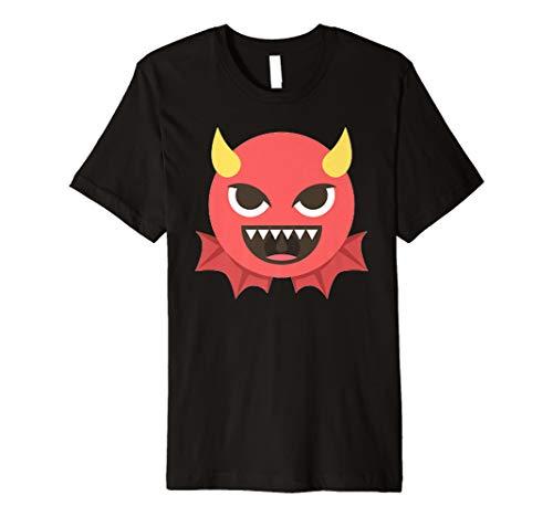 Teufel Halloween Emoji-Kostüm -
