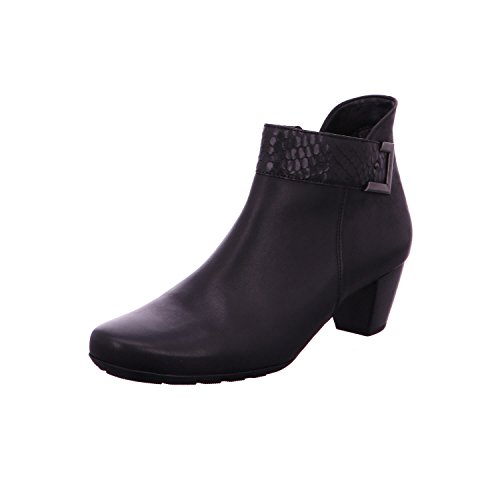Damenschuhe 824 schwarz Schwarz Damen Schnürstiefel 52 Boots Micro Gabor Schnürboots Stiefel 37 f4xEqqd