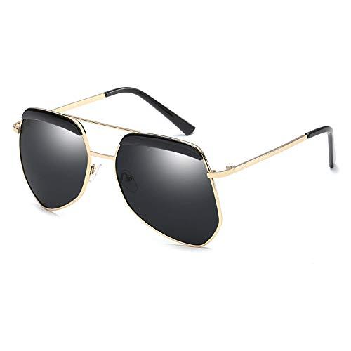 Huichao Aviator Sonnenbrille polarisiert - UV-Schutz 400 Schutzhülle/klassischer Stil, männlich und weiblich universal,2