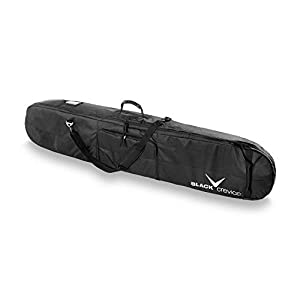 Black Crevice Snowboardbag, Black/Silver, Unisize