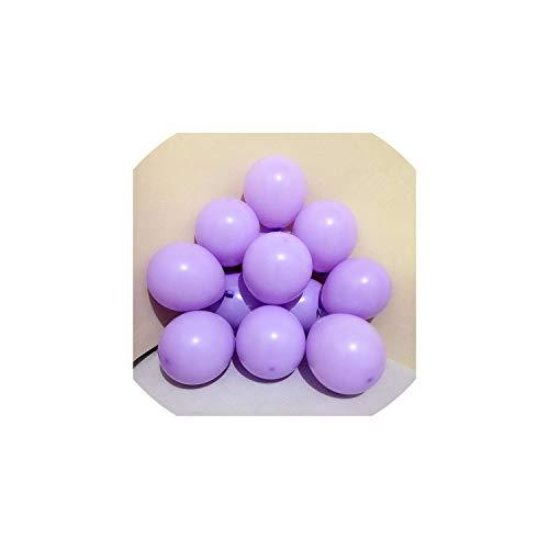 Latex-Ballon Alles Gute Zum Geburtstag Hochzeit Dekoration Ballon-Ereignis-Party Supplies, Macaron D11 Lila, 1G 5Inch Mini Ballon