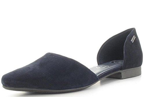 Bugatti 411436603400, Ballerine Donna Blu (Dark Blue)