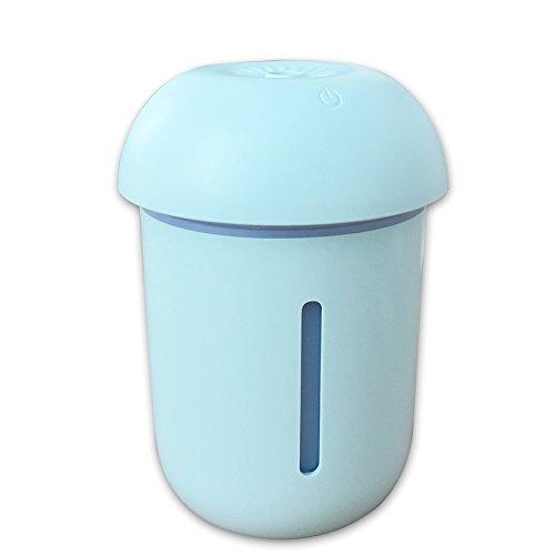 Iycorish Humidificador multifuncion lampara triple setas moda nueva humidificador USB air de oficina (azul)Nombre del producto: USB Mushroom Lamp HumidifierModelo del producto: X1Material: ASBColor: azulVoltaje de funcionamiento: DC5VCorriente de tra...
