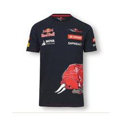 Camiseta de manga corta Scuderia Toro Rosso de Max Verstappen. tamaño
