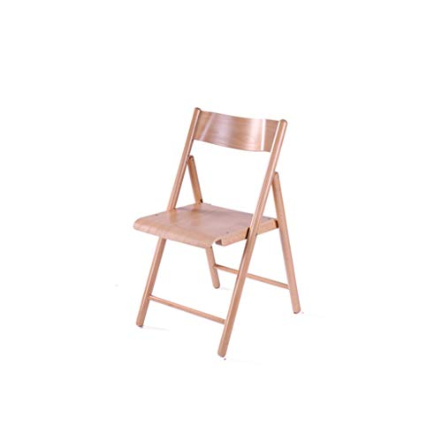 LiaoMu Buche Massivholz Klappstuhl speisende Stuhl Minimalist Mode Stuhl Vollholzstuhl Startseite Freizeit Bürostuhl Computer Stuhl All-Holz Struktur faltbares Design