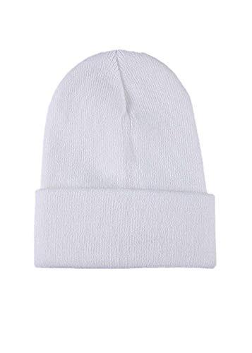 Auiyut Unisex Strickmütze Hip Hop Cap Warme Winter Outdoor Fashion Slouchy Caps Knitting Beanie Cap Wintermützen Strickmütze Geeignet zum Skifahren, Klettern Bunt Cap Farbig Casual Cap