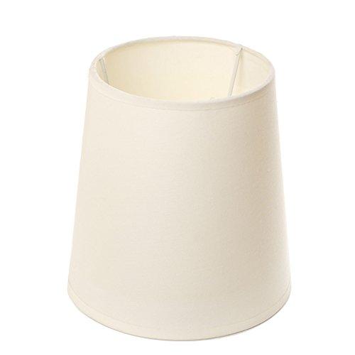 Lumissima 80108 - Pantalla de Lampára, forma cilíndrica, color natural -