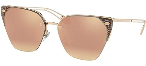 Sonnenbrillen Bvlgari SERPENTEYES BV 6116 Rose Gold/Rose Gold Damenbrillen