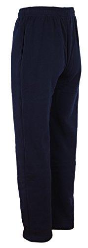 Pantalon Sport Jogging Femme Loose Fit Patalon Gym Large Sweatpant en gris, noir, bleu marine Navy