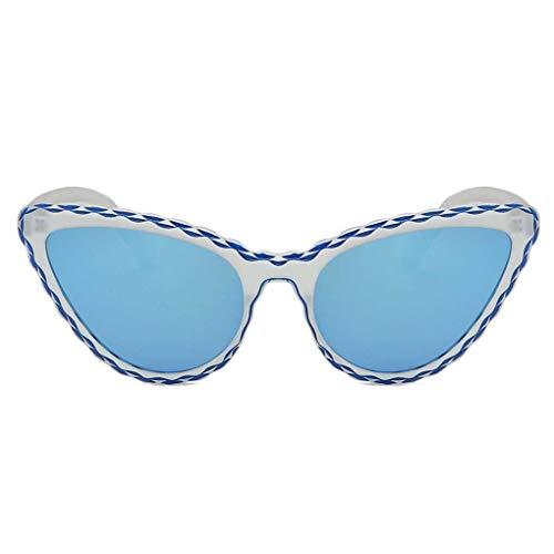 BoburyL Frauen Eye-Form-Rahmen Sonnenbrillen Brillen sicheres Fahren Mädchen Getönte Farbe Objektiv Brille Brillen