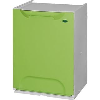 Recycling-Eimer Duett aus Kunststoff, stapelbar, in 6Farben erhältlich
