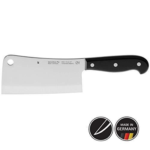 WMF Spitzenklasse Plus Chinesisches Hackmesser 27,5 cm, Spezialklingenstahl, Messer geschmiedet, Performance Cut, Kunststoff-Griff vernietet, Klinge 15 cm