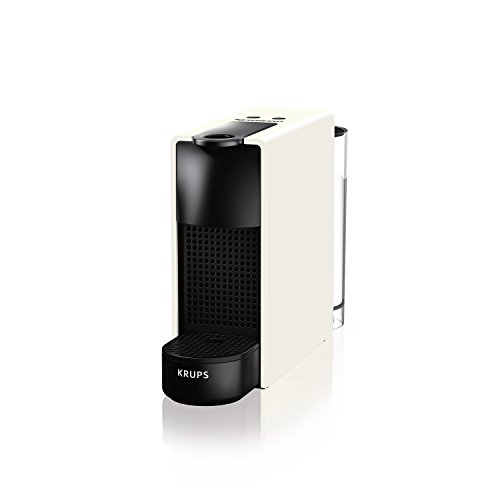 Nespresso Krups Essenza Mini - Cafetera, potencia 1450 W, color blanco