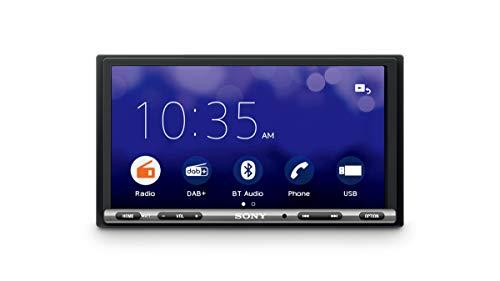 """Oferta de Sony XAV-3550D - Reproductor para Coche (WebLink, Bluetooth y NFC, Pantalla táctil de 7"""" antirreflejo, Dab+, Compatible con Android/iOS y apps como Waze o Youtube, Potencia de 55W x 4)"""