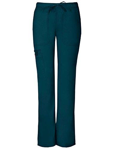 Gen Flex Frauen Low Rise Straight Leg Scrub Hose XX-Large Petite Karibik (Petite Low-rise-scrub-hose)