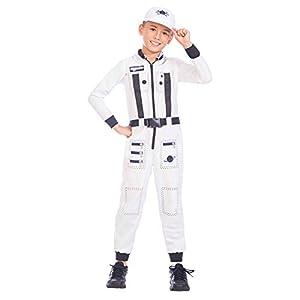 Amscan International- Astronaut 10-12 Years Disfraz, Color (9904454)
