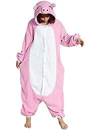Maiale Abbigliamento Amazon Kigurumi Donna Pigiama it xYtxwHqA8