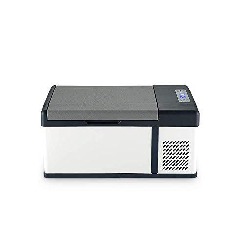 YXYNB Tragbare 15 Liter große Kapazität Kühlwagen 12 V / 24 V / 220 V Mini Kühl Gefrierschrank Gefrierschrank Startseite Auto Dual Zweck kann für große LKWs, Autonutzung verwendet Werden