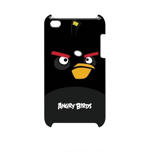 Gear4 Angry Birds Clip-On Schutzhülle Case für iPod Touch 4th Generation - Black Bird