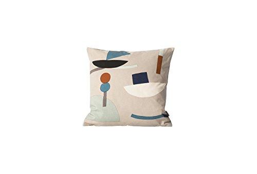 Ferm Living Kissen Seaside Cushion - Grau