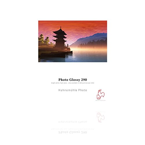 Preisvergleich Produktbild Hahnemühle 10641921 Photo Glossy Papier, 260 g/m², DIN A3, 297 x 420 mm, hellweiß