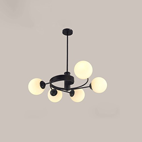 Dual-mount-deckenleuchten (TangMengYun Nordic Dual-Use Kreativer Kronleuchter Glas Kronleuchter Deckenleuchten Persönlichkeit Einfache Mode Schlafzimmer Lampen (E27) ( Size : 60*20CM ))