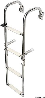 Scaletta pieghevole con attacchi arcuati 4 gradini English: S.S deck ladder 4 steps