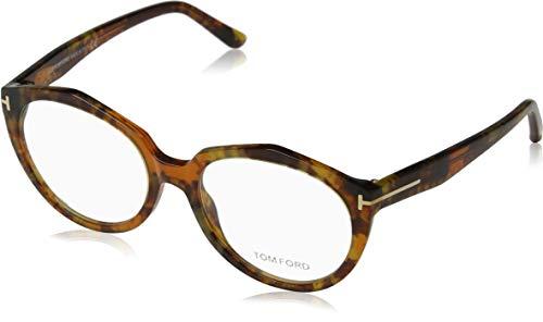 Tom Ford Damen Brille FT5416 055 52 Brillengestelle, Braun,