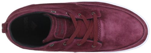Emerica 6102000079, Baskets mode homme Rouge (Maroon/Black/White)