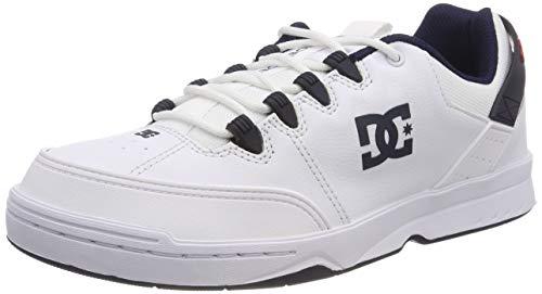 DC Shoes Herren Syntax Skateboardschuhe, Weiß (White/Navy Wny), 42 EU