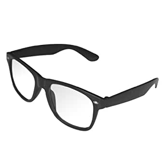 trendige nerd brille ohne st rke in schwarz. Black Bedroom Furniture Sets. Home Design Ideas