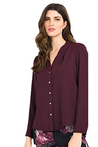Joseph Ribkoff BlackBerry Top Style 194419 - Fall/Winter 2019