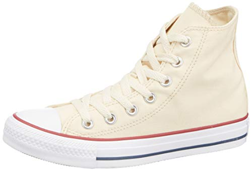 Unisex Shoes Converse All Star Optic White Canvas Lace Up Hi Top Unisex Shoes Youth Size 3 Pure And Mild Flavor