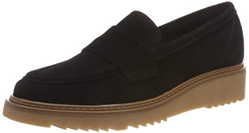 ESPRIT Damen Josette Loafer Slipper, Schwarz (Black 001), 38 EU
