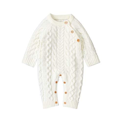 Sanahy Baby Neugeborenes Baby Mädchen Körper Body Knitting Crochet Bekleidung Bekleidung Mäntel Jacken Geschenk -