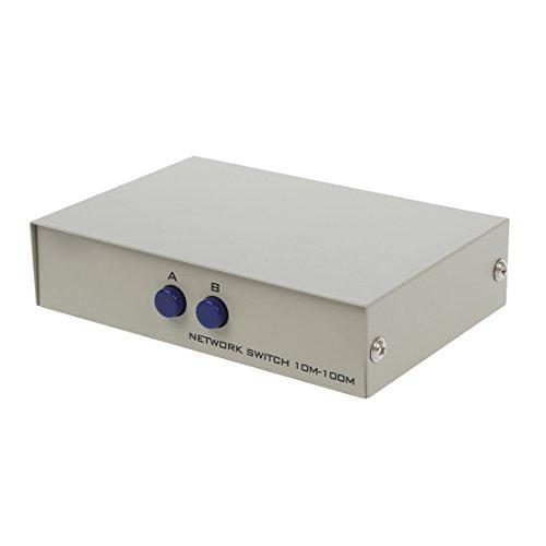 Ab 2-wege-schalter Box (TOOGOO(R)RJ45 8P8C Netzwerk/ Telefon AB 2-Wege 8P8C Handbuch Schalter Box)
