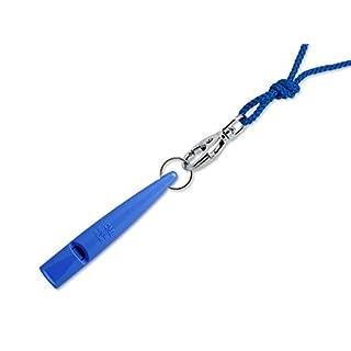 Acme Hundepfeife No. 211,5 + Gratis Pfeifenband | Original aus England | Ideal für die Hundeausbildung | Robustes Material | Genormte Frequenz | Laut und weitreichend (Snorkel Blue)