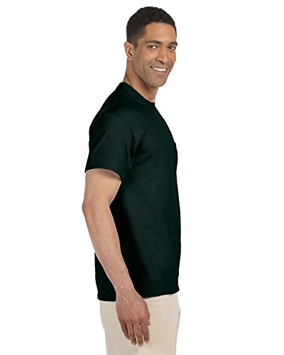 Gildan Ultra Cotton 6oz Pocket T-Shirt, Grün, G230 (Gildan Pocket T-shirts)
