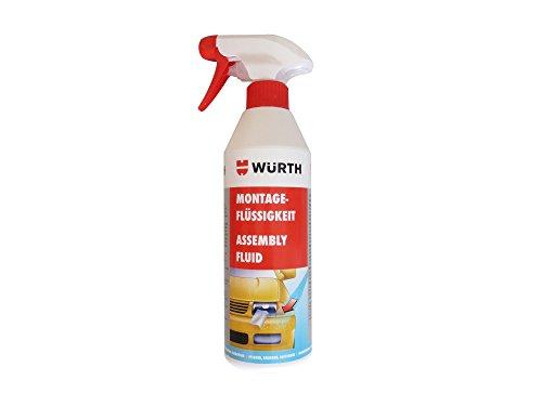 WÜRTH- Profi Montageflüssigkeit für Lackschutzfolien / Inhalt: 500ml / (28,20 EUR/l)