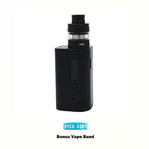 Authentique Kit Eleaf iStick Tria 300W d'origine avec ELLO S (Noir) Cigarette électroniques avec Bande de Vape Bonus