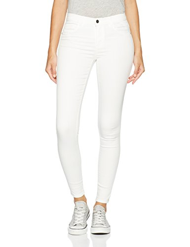 ONLY onlRAIN REG SKINNY JEANS CRY9090, Mutande Donna, Bianco (White), 42/L34 (Taglia Produttore: X-Large)