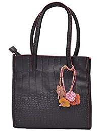 Senora Handbag for Women- Colour(Black)