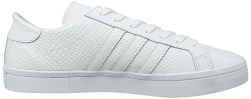 adidas Courtvantage W, Chaussures de Fitness Mixte Adulte Blanc Cassé (Ftwwht/ftwwht/cblack)