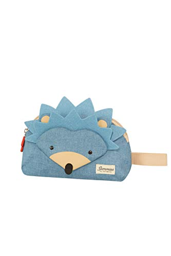 Samsonite Happy Sammies Bolsa de Aseo, 24 cm, 2 L, Azul Hedgehog Harris